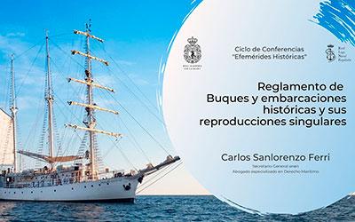 Reglamento de buques y embarcaciones históricas y sus reproducciones singulares