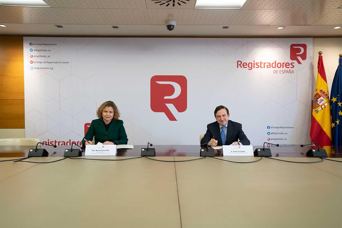 acuerdo de colaboracion entre colegio de registradores y real academia de la mar 03